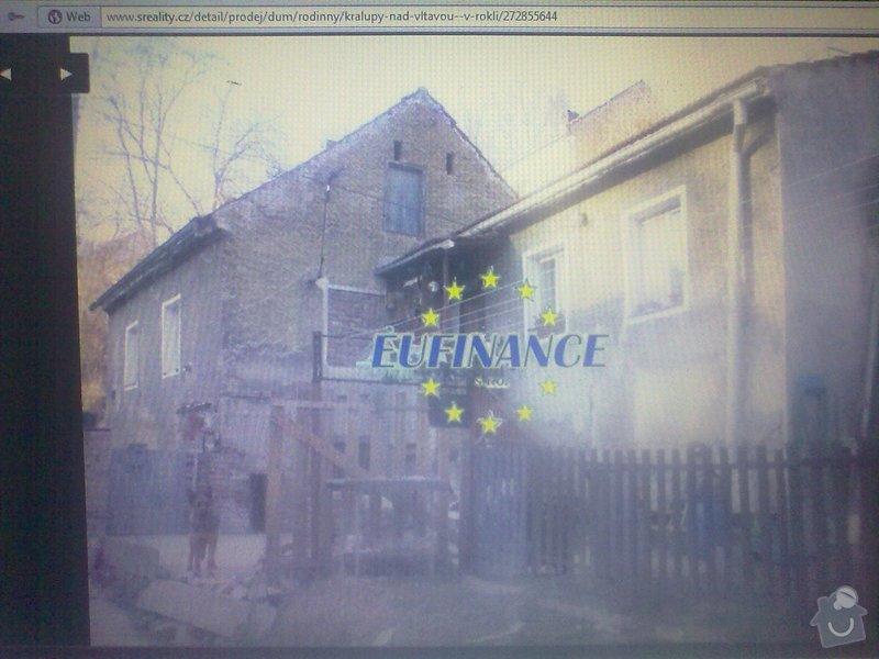 Fasásda na dům (natažení perlinky)   max.do100 m2: 030920121167