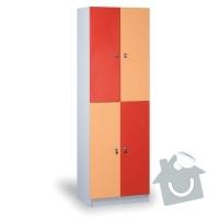 Vybavení dětského koutku: satni-skrin-drevena