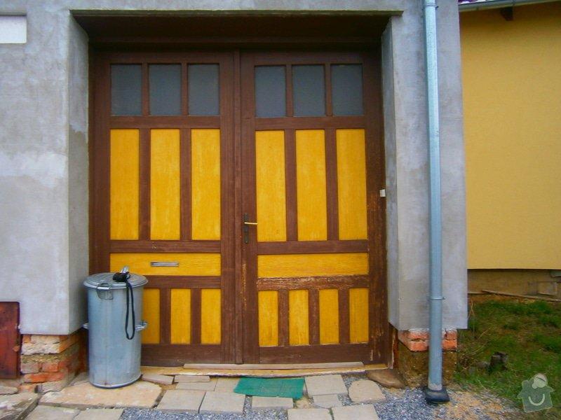 Vrata a okno - výroba a zabudování: P4122869