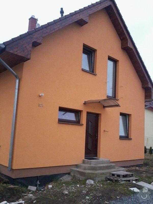 Podbití střechy, izolaci, fasáda rod. domu: libeznice_22