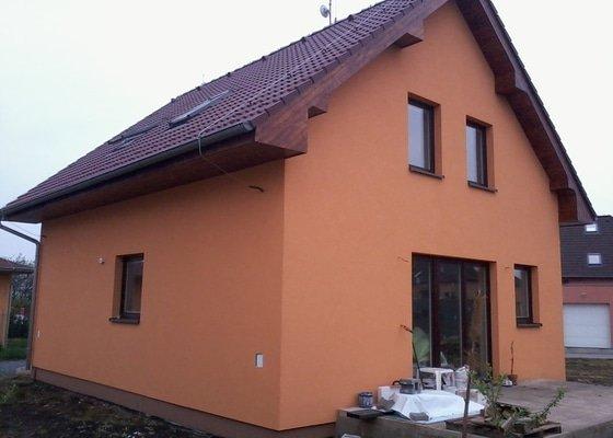 Podbití střechy, izolaci, fasáda rod. domu