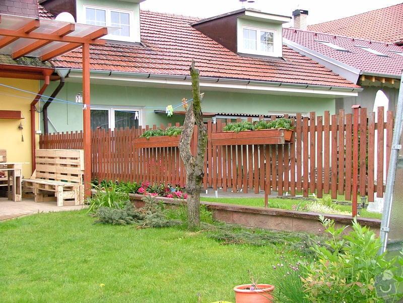Dostavba plotu RD v obci Brandýsek: DSCF7258