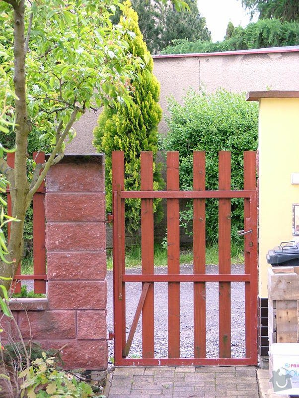 Dostavba plotu RD v obci Brandýsek: DSCF7254