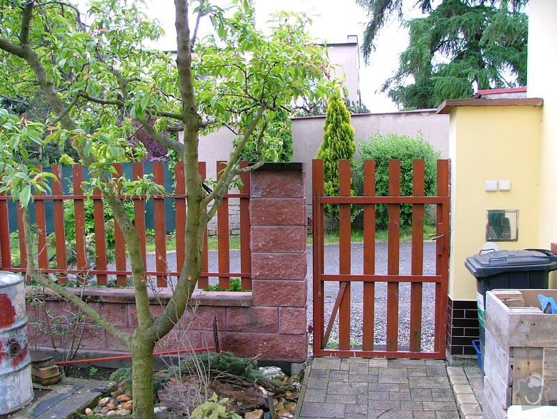 Dostavba plotu RD v obci Brandýsek: DSCF7259
