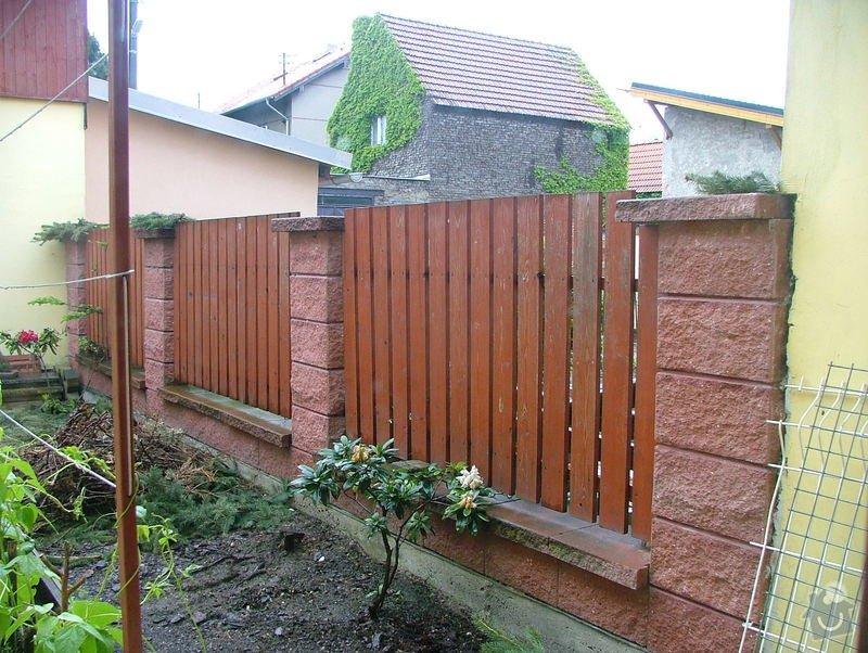 Dostavba plotu RD v obci Brandýsek: DSCF7267
