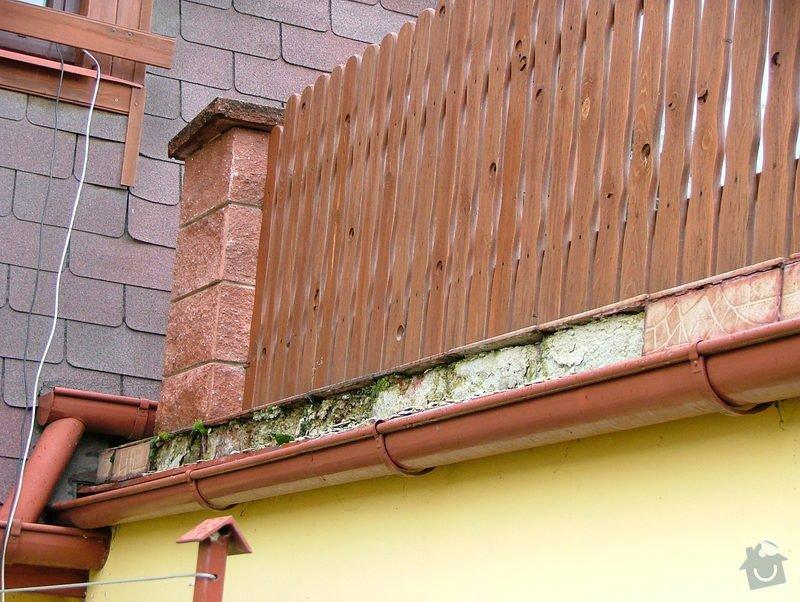 Oprava dlažby - obvodový obklad - terasa: DSCF7249