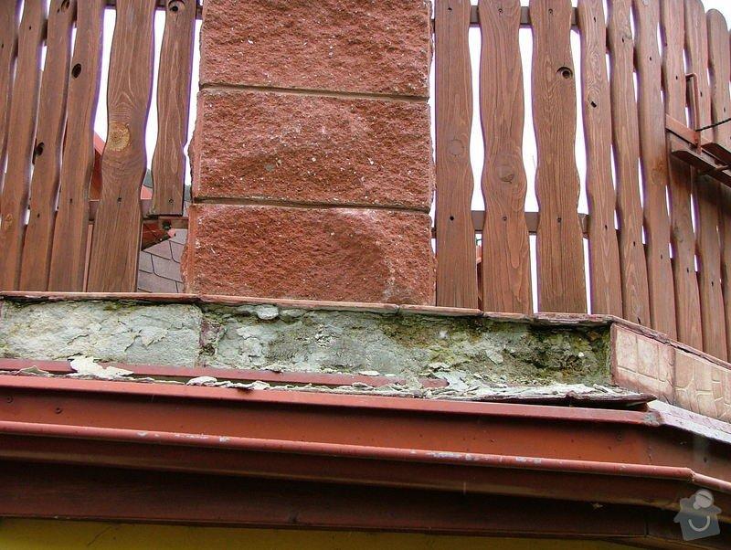 Oprava dlažby - obvodový obklad - terasa: DSCF7251