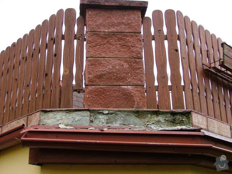 Oprava dlažby - obvodový obklad - terasa: DSCF7248