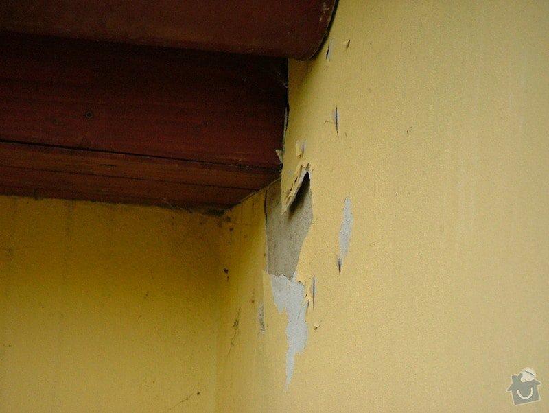 Oprava dlažby - obvodový obklad - terasa: DSCF7253