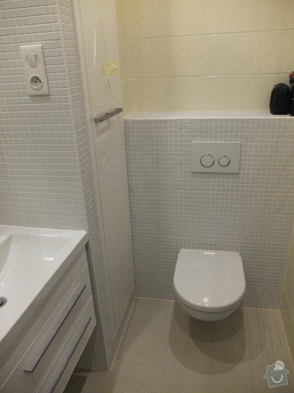 Rekonstrukce koupelny, předsíně, kuchyně: DSCF6216