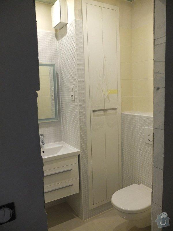 Rekonstrukce koupelny, předsíně, kuchyně: DSCF6226