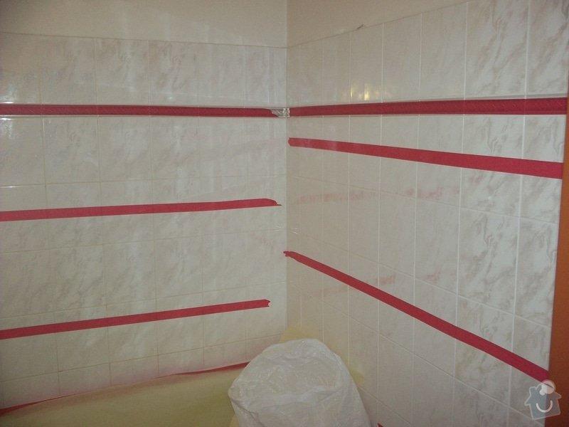 Oprava obkladu v koupelně: 100_1506