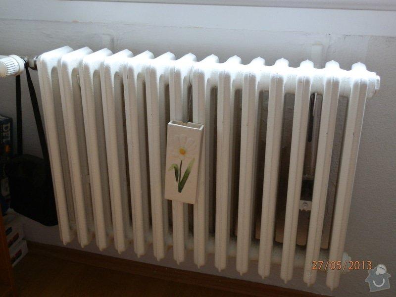 Výměna radiátorů: obyvaci_pokoj