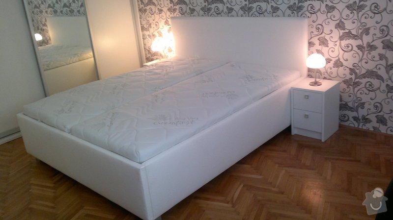 Výroba postele + nočních stolků: 07112012485