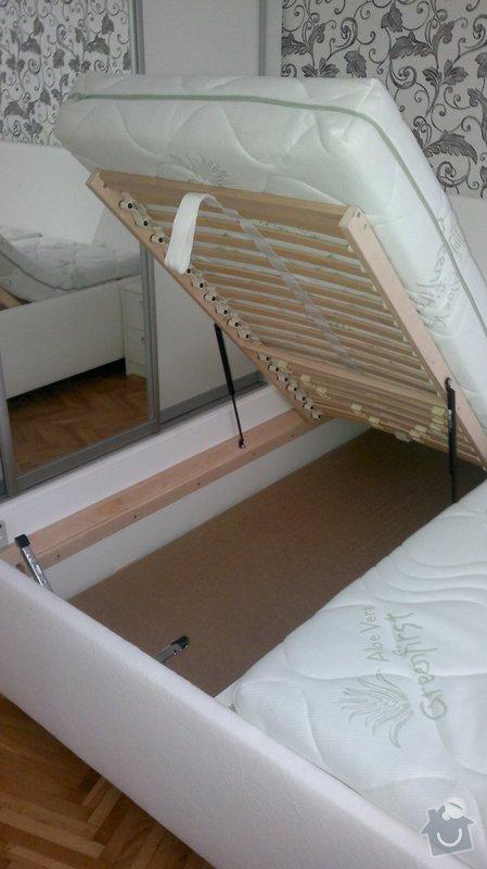 Výroba postele + nočních stolků: 07112012492