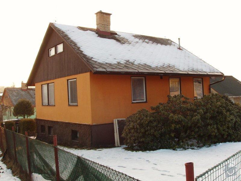 Rekonstrukce interiéru dřevostavby obkladem-sádrokarton: P4150563