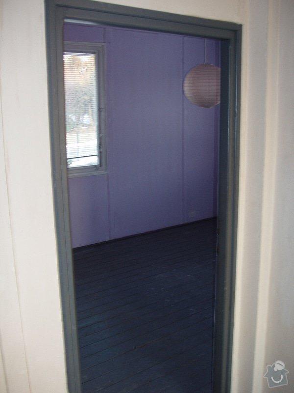 Rekonstrukce interiéru dřevostavby obkladem-sádrokarton: P4150577
