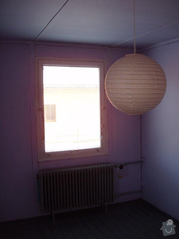 Rekonstrukce interiéru dřevostavby obkladem-sádrokarton: P4150578