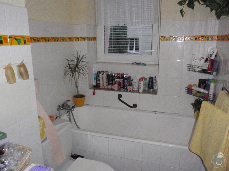 Rekonstrukci koupelny v BD cca 2x5m: P5270028