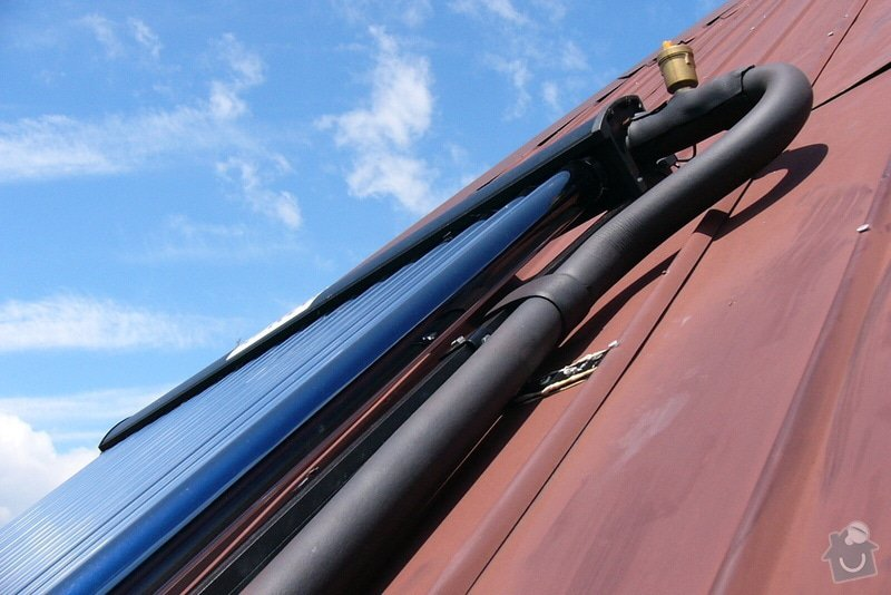 Instalace trubicového solárního systému: P1080714