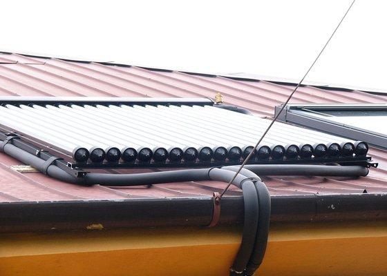 Instalace trubicového solárního systému