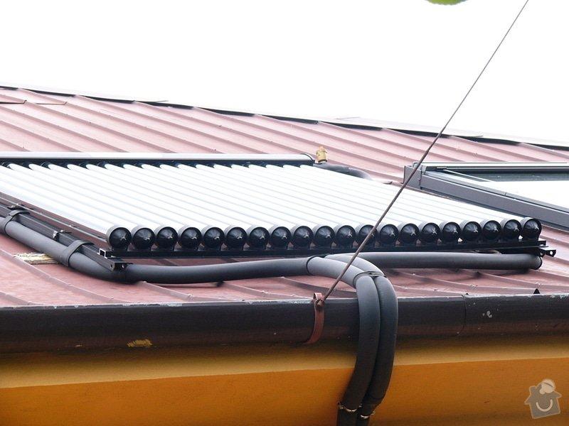Instalace trubicového solárního systému: P1080701