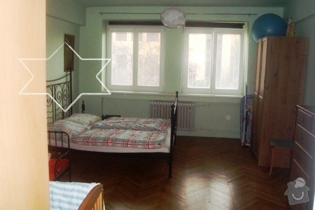 Štuky v celém bytě (62 m2, příčka, výměna 2 zárubní, výměna 3 topení, výměna obkladu v kuchyňské lince: 2.pokoj_do_klidne_ulice