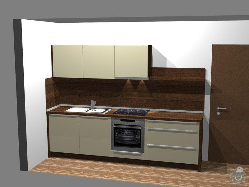 Investiční akce- Byty Popovice - kuchyně: persp1_byt7P