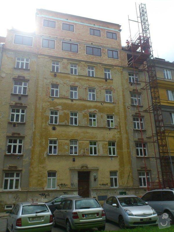 Omítka fasády bytového domu v Brně: DSC_0111_2_