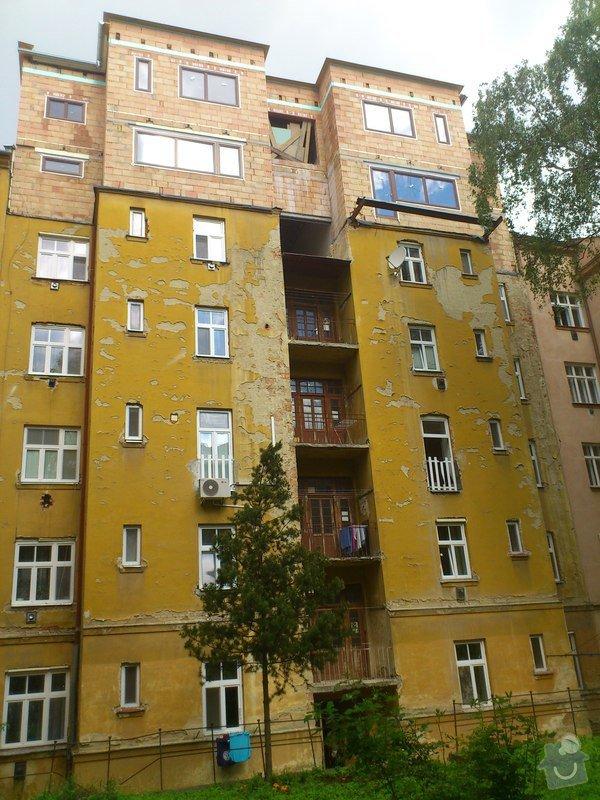 Omítka fasády bytového domu v Brně: DSC_0115_2_