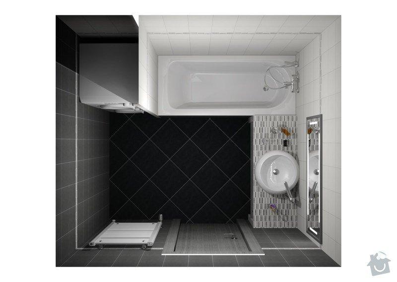Rekonstrukce koupelny a wc: koupelna_Fly_1_1