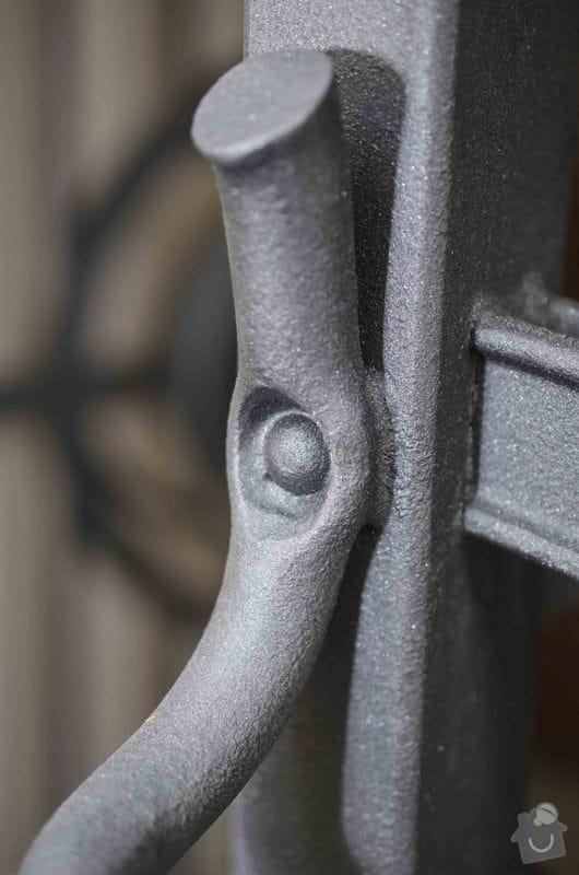 Kovaná brána - výroba a montáž: _DSC7929