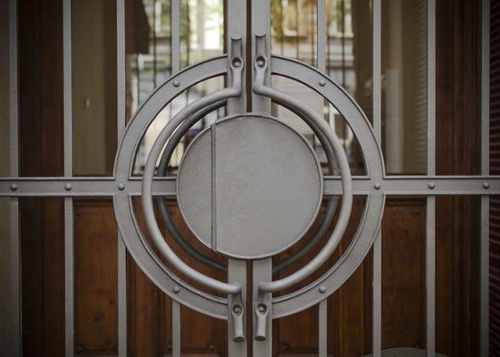 Kovaná brána - výroba a montáž