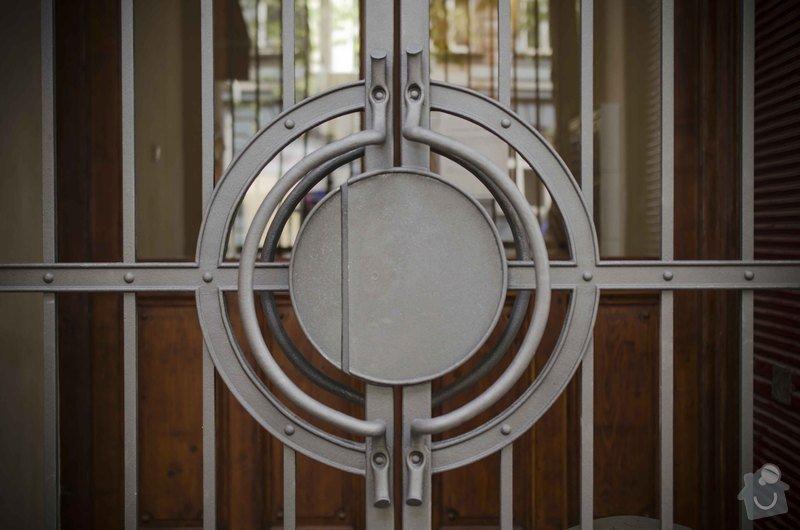 Kovaná brána - výroba a montáž: _DSC7966