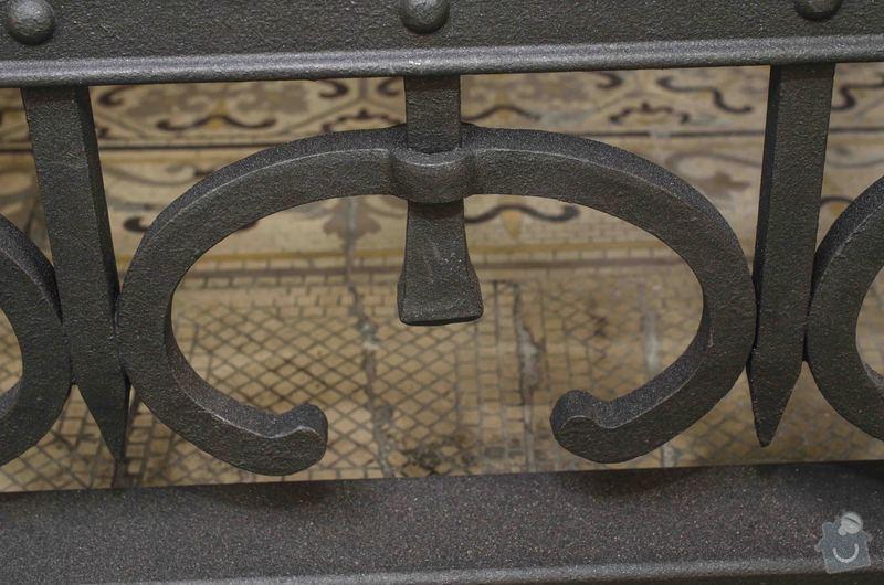 Kovaná brána - výroba a montáž: _DSC7994