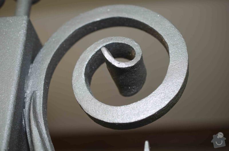 Kovaná brána - výroba a montáž: _DSC8001