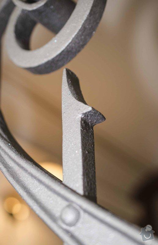 Kovaná brána - výroba a montáž: _DSC8006