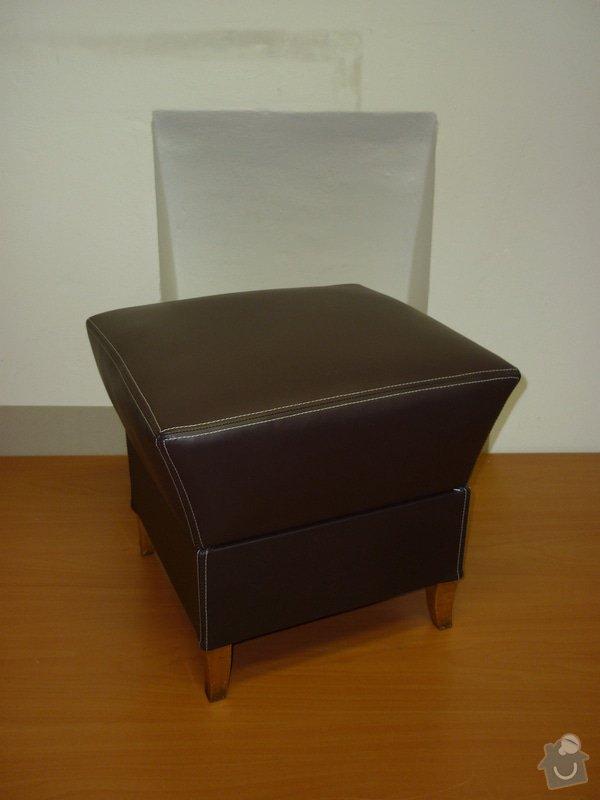 Čalounění taburetu: P1020849