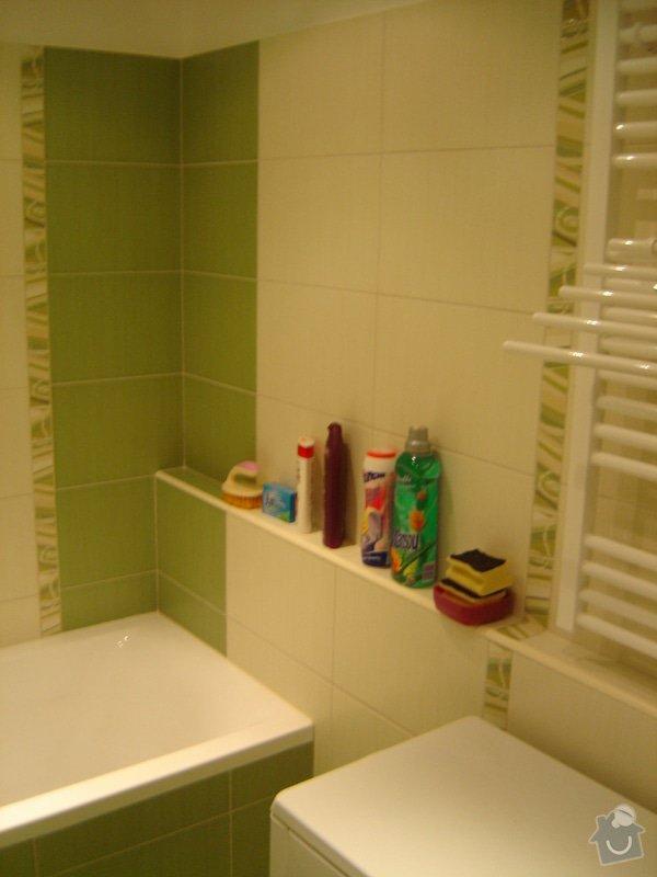Rekonstrukce koupelny a kuchyně: DSC01495