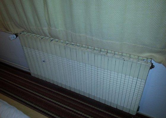 Výměnu 3 radiátorů bez vypouštění stoupaček
