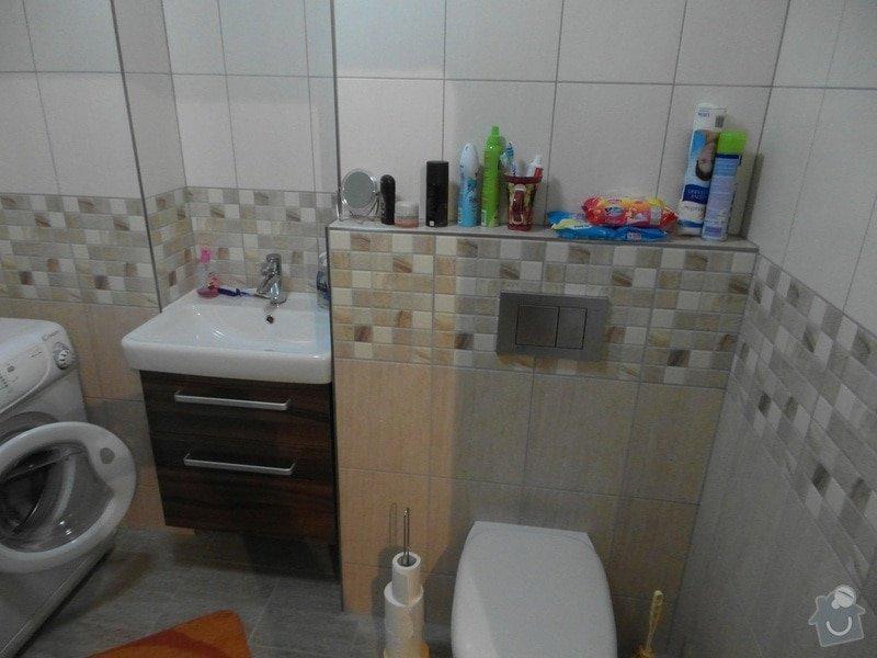 Rekonstrukce koupelny,WC a kuchyně : SAM_0522