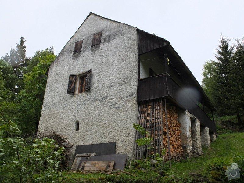 Rekonstrukce střechy, krov, střešní krytina: DSCF9134