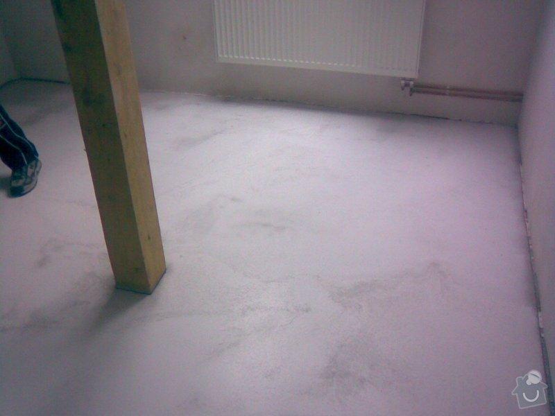 Plovouci podlaha,pvc: Samonivel.sterka