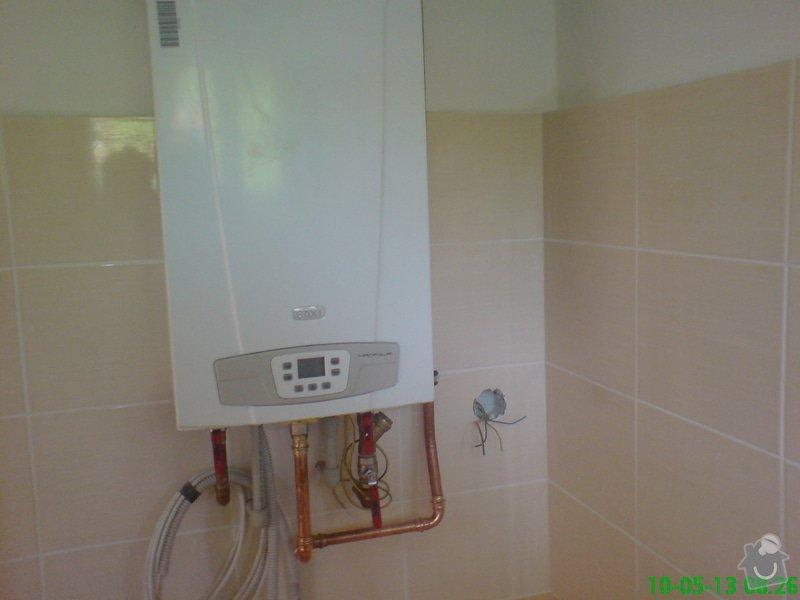 Montáž zdravotechniky,topení,plynu v bytě: DSC00005