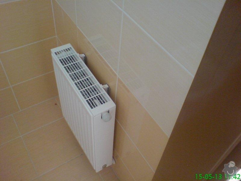 Montáž zdravotechniky,topení,plynu v bytě: DSC00014