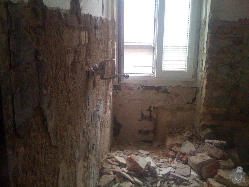 Rekonstrukce koupelny : IMG_1651