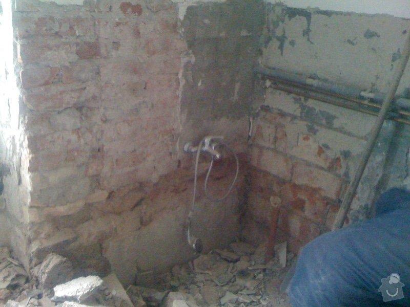 Rekonstrukce koupelny : IMG_1652