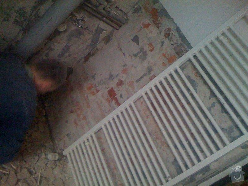 Rekonstrukce koupelny : IMG_1653