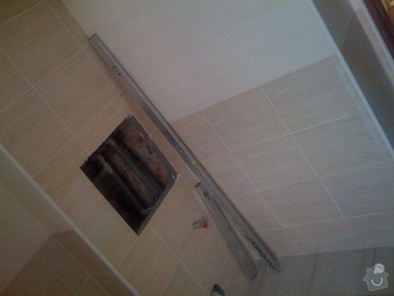 Rekonstrukce koupelny : IMG_1777