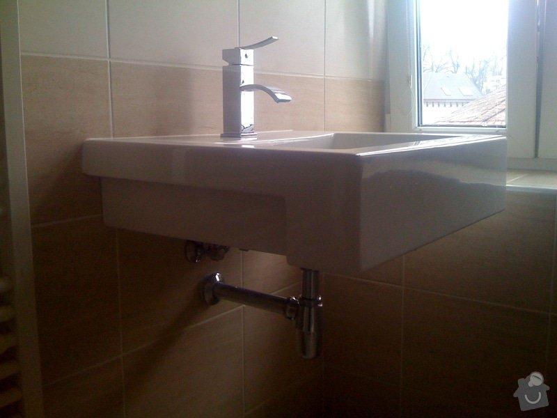 Rekonstrukce koupelny : IMG_1794